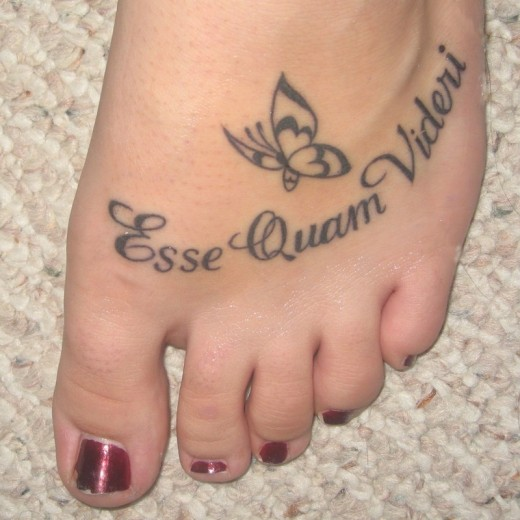 More stunning foot tattoo designs for girls yusrablog com
