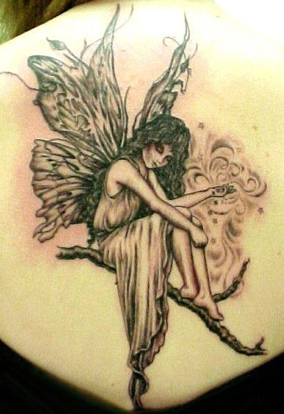 tattoo ideas designs. Top Women Angel Tattoo Design