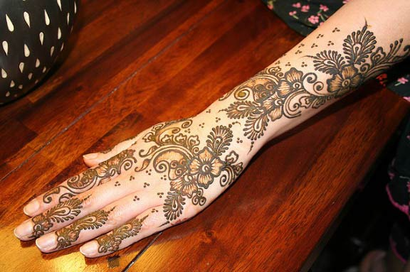 Arm Mehndi Designs – The Art of Mehndi