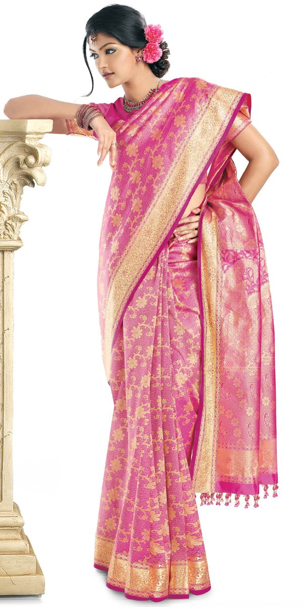2011 Party Wear Sarees Designs Collection