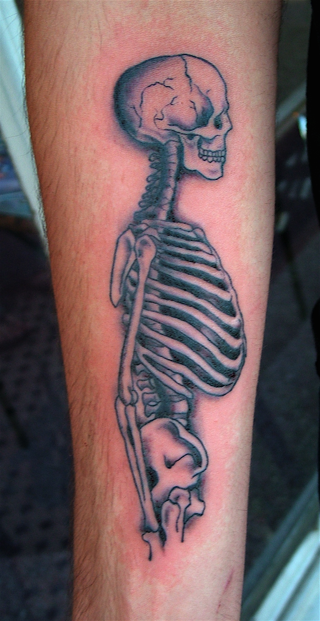 Outstanding Skeleton Tattoo Designs For 2011