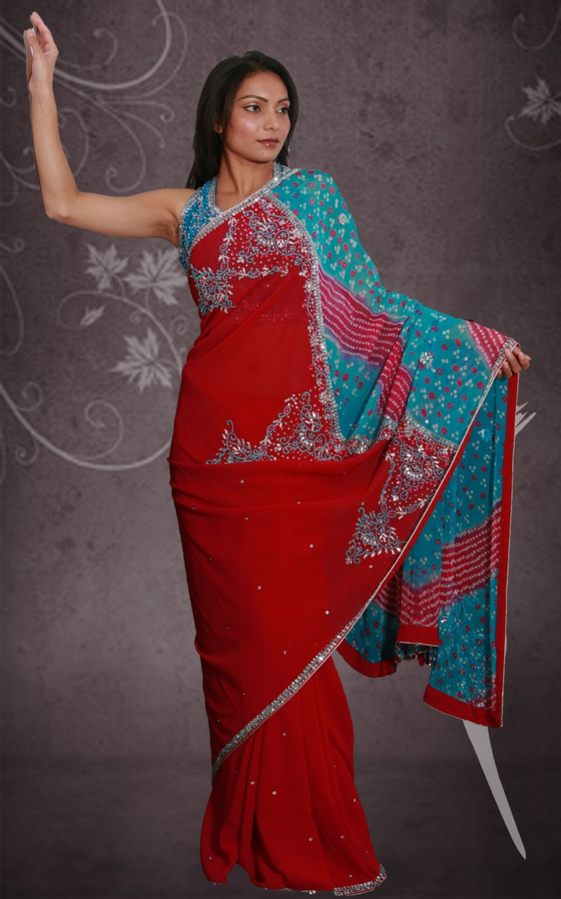 Bandhani Saree Designs: Latest Collection