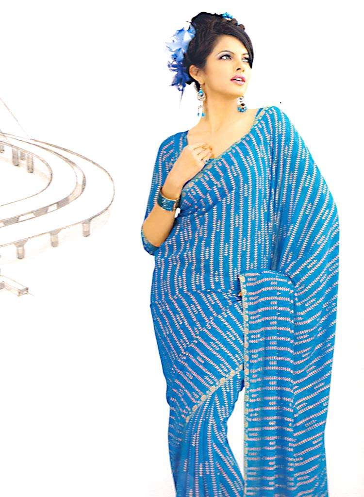 Latest Silk Sarees Designs For 2011