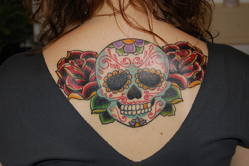 skull tattoo ideas. Best Skull Tattoo Design For
