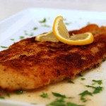 Crispy Cod Fish With Lemon Recipe