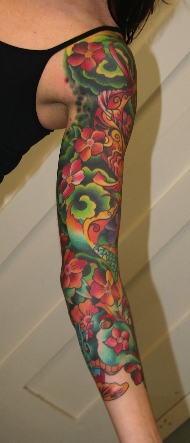 Uxrunnuba girl tattoo sleeves ideas for Tattoo sleeve ideas girl