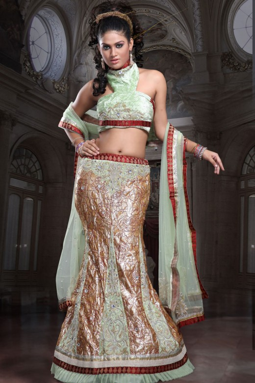 Designer Lengha Choli Fashion for Brides