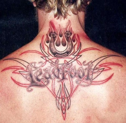 tribal back tattoo designs for men. Elegant Upper Back Tribal