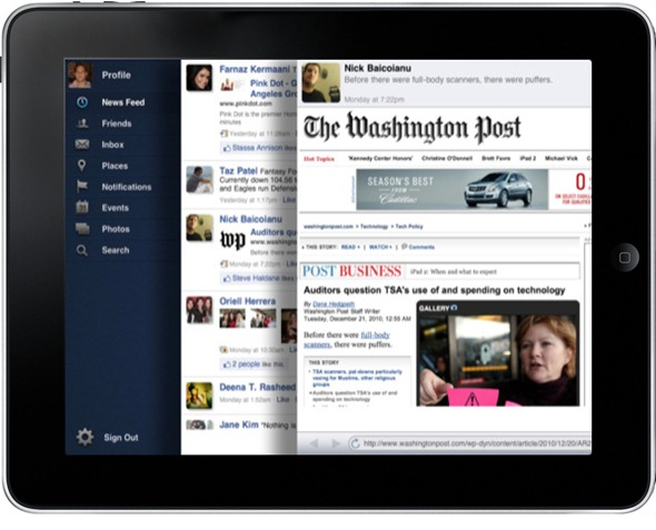 The Facebook For iPad