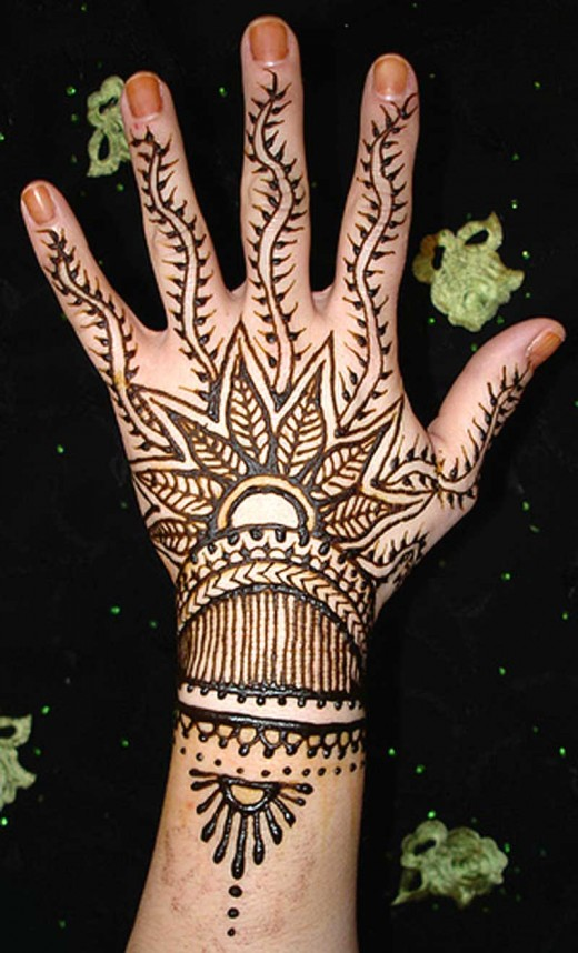 Festival Mehndi Design for 2011