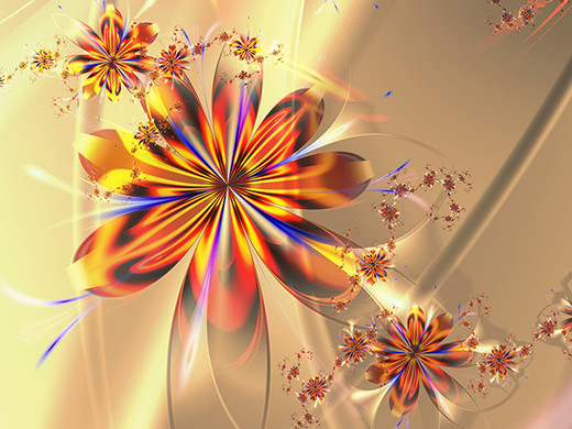 The Most Beautiful Examples of Fractal Flowers