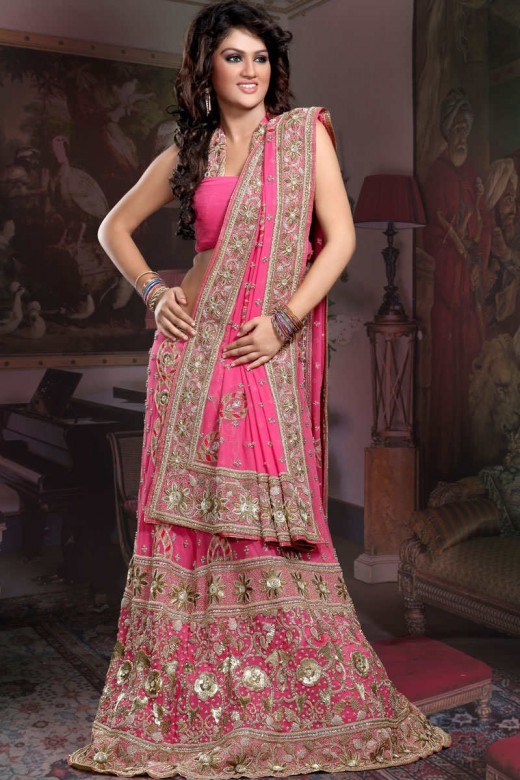 Ghagra Choli Design for Indian Brides