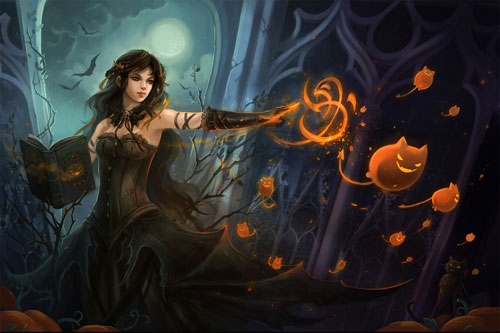 Most Beautiful Special Halloween Wallpapers