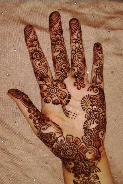 Beautiful Arabic Mehndi Designs For 2011 Yusrablog Com