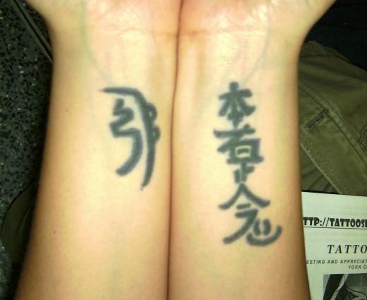inner wrist tattoo. Inner Wrist Tattoo Style for