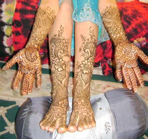 Bridal Mehndi For Leg : Absolutely stylish leg mehndi designs for yusra