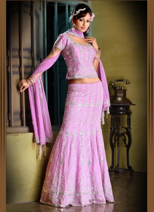 New Colorful Lengha Choli Trend for Girls