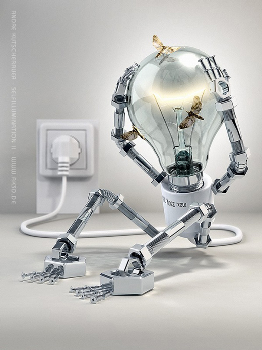 Amazing Examples of 3D Robot Artworks