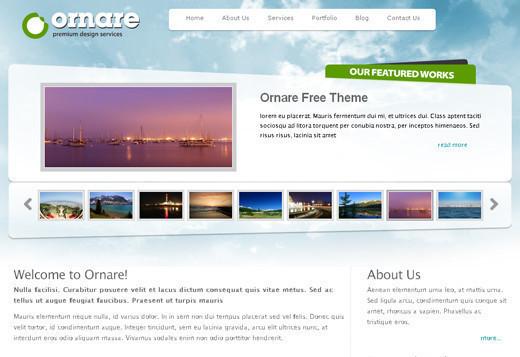 Free Elegant XHTML/CSS Website Templates - YusraBlog.com
