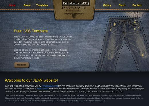 Free Elegant XHTML/CSS Website Templates