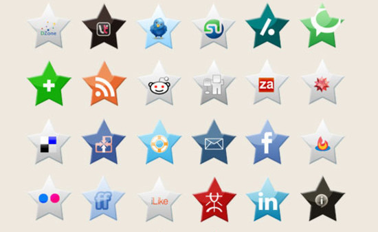 15 Creative Social Icon Sets For Free Download