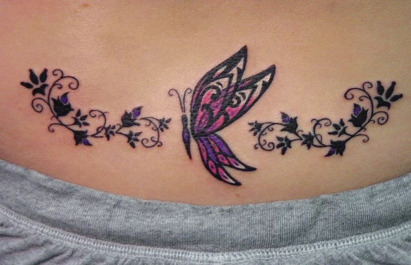 tattoos designs for lower back. You are here: Home » Tattoo Design on Lower Back for Younger Girls