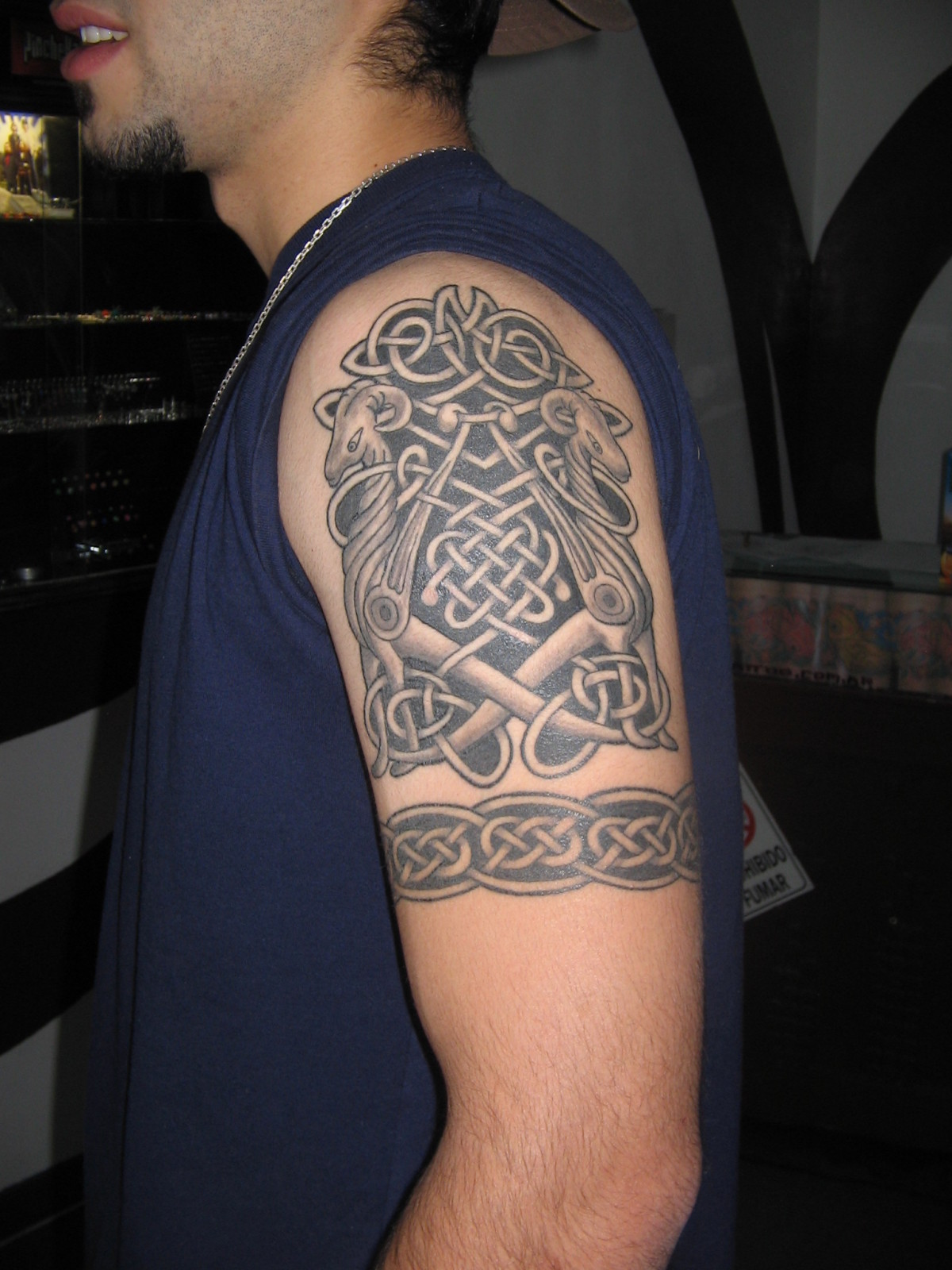Tribal Arm Tattoo New Style For College Boys Yusrablog Com