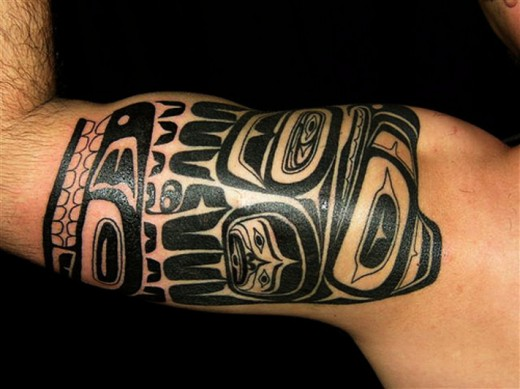 tribal tattoos for men on arm. images tribal tattoos for men