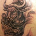 Bull Tattoo Meaning of Power and Strength