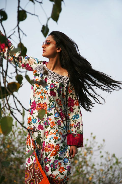 New Generation Lawn Prints Collection 2011