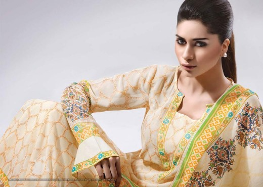 2011 12 Kayseria Latest Collection - Kayseria Lawn Prints Collection For Summer