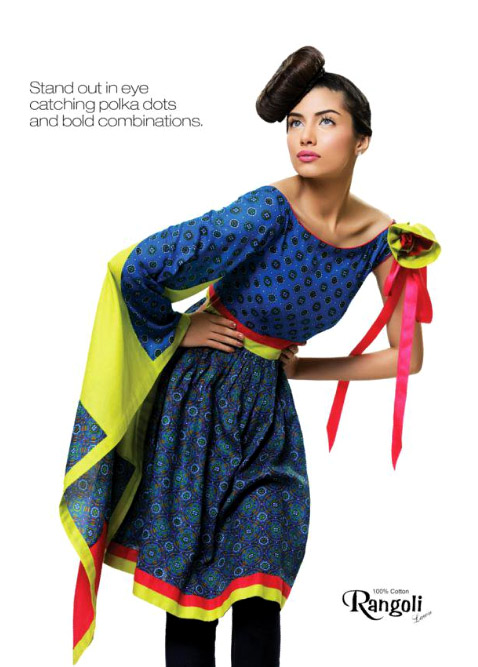 Rangoli Lawn Collection 2011 By Ittehad Textiles