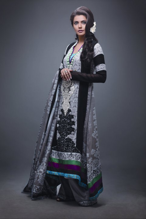 2011 12 Star Pearl Lawn Collection - Nida Yasir Star Pearl Lawn Collection For Summer