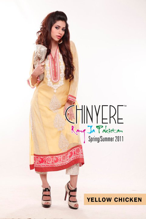 2011 Chinyere Lawn Latest Collection - Chinyere Lawn Summer Collection 2011-12
