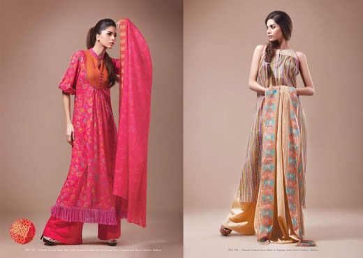2011 Kayseria Lawn Suits for Summer - Kayseria Lawn Prints Collection For Summer