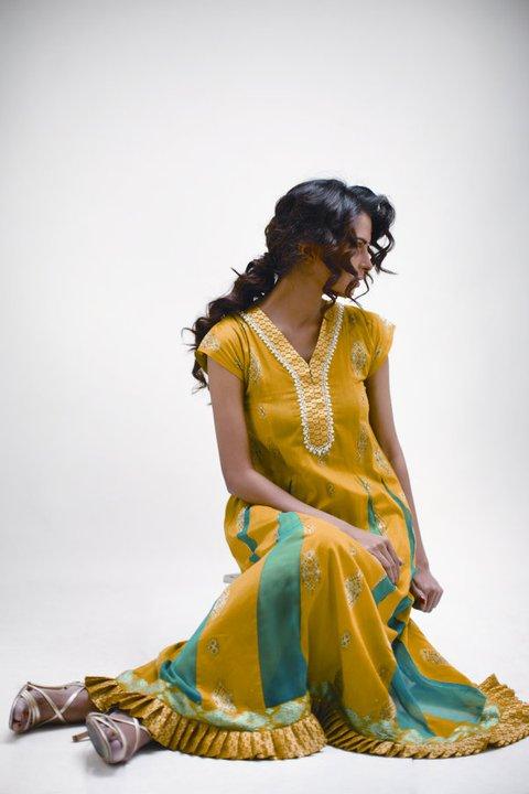2011 Star Pearl Lawn Summer Collection - Nida Yasir Star Pearl Lawn Collection For Summer