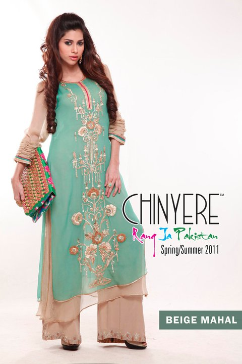2011 Summer Collection of Chinyere - Chinyere Lawn Summer Collection 2011-12