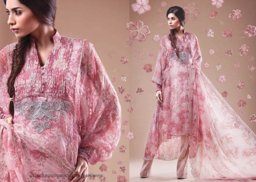 Beautiful Kayseria Salwar Kameez for 2011 12 - Kayseria Lawn Prints Collection For Summer