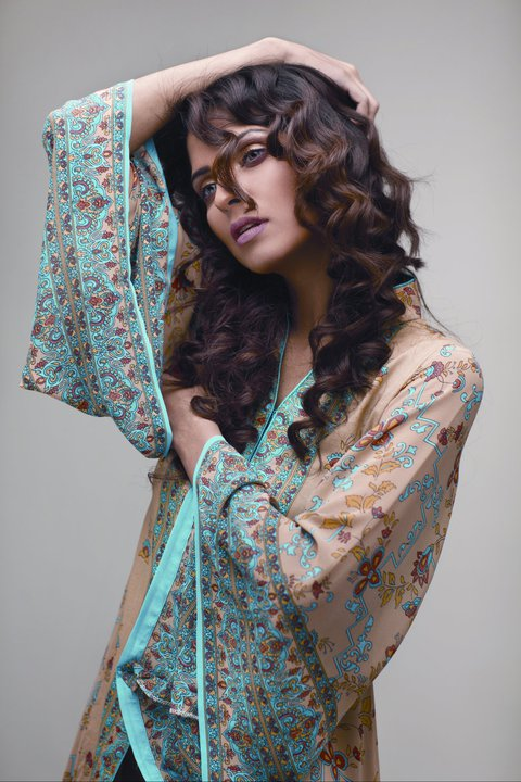 Best Star Pearl Spring Collection 2011 - Nida Yasir Star Pearl Lawn Collection For Summer