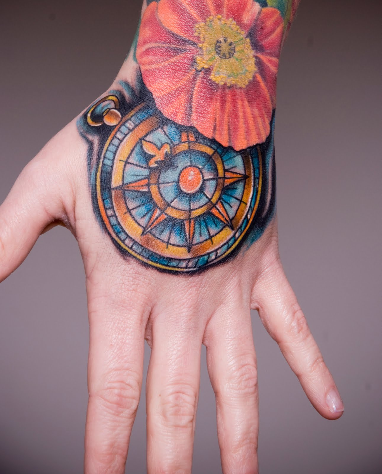 Tattoo Designs For Girls On Hand: 30 Fantastic Hand Tattoo Designs Collection For 2011 Best