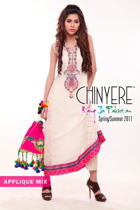 Chinyere Lawn Collection for Spring - Chinyere Lawn Summer Collection 2011-12
