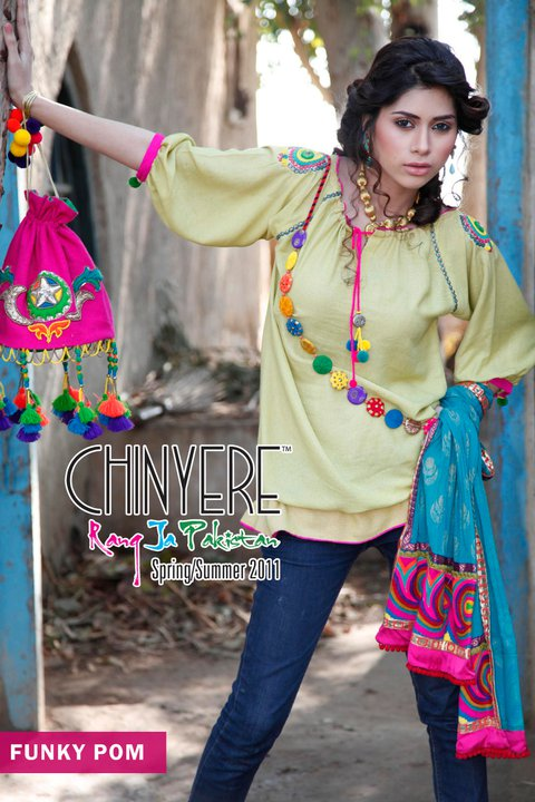 Chinyere Lawn Collection for Summer 2011 - Chinyere Lawn Summer Collection 2011-12