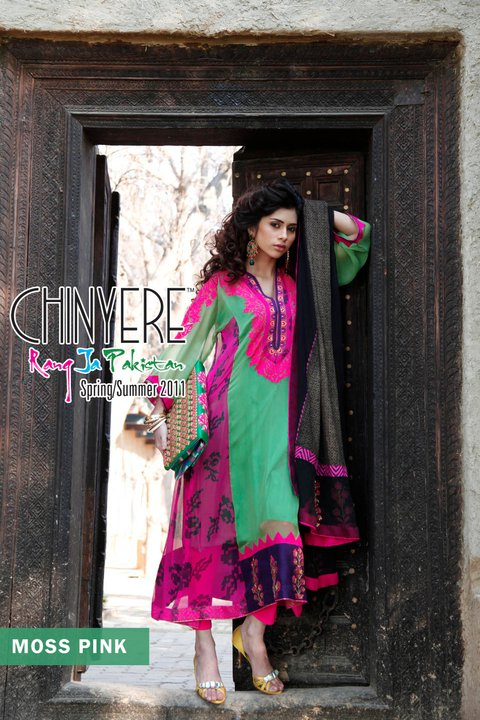 Chinyere Lawn Latest Summer Collection - Chinyere Lawn Summer Collection 2011-12