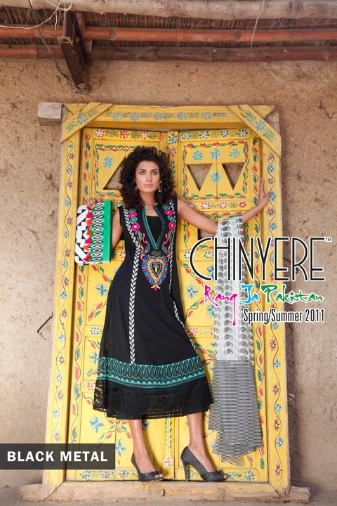 Chinyere Lawn Summer Collection - Chinyere Lawn Summer Collection 2011-12