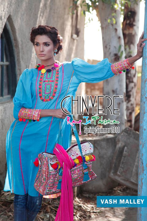 Chinyere Spring Collection for Girls 2011 - Chinyere Lawn Summer Collection 2011-12
