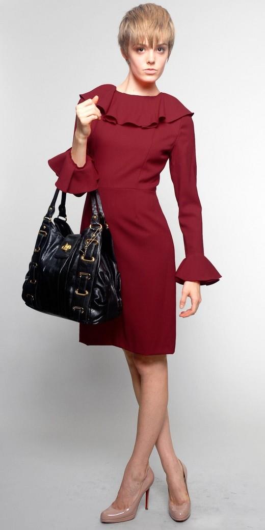 Классическое офисное платье.  2000 pxРазмер.  237464 байтДобавлено.
