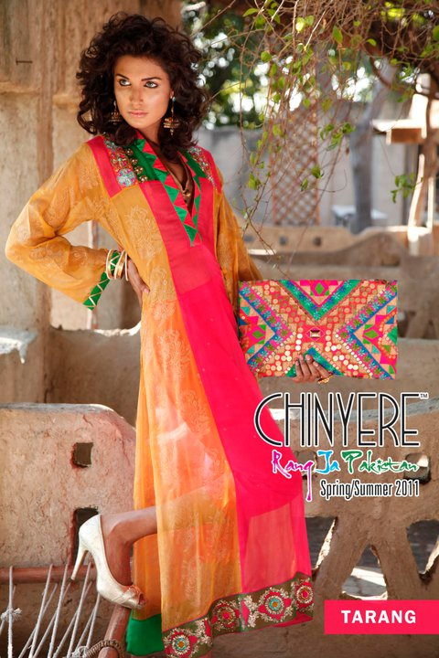 Fantasy Chinyere Dresses Collection for 2011 - Chinyere Lawn Summer Collection 2011-12