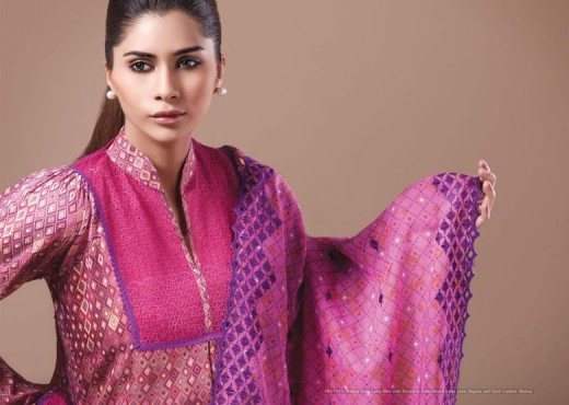 Fantasy Kayseria Lawn Salwar Kameez for 2011 - Kayseria Lawn Prints Collection For Summer
