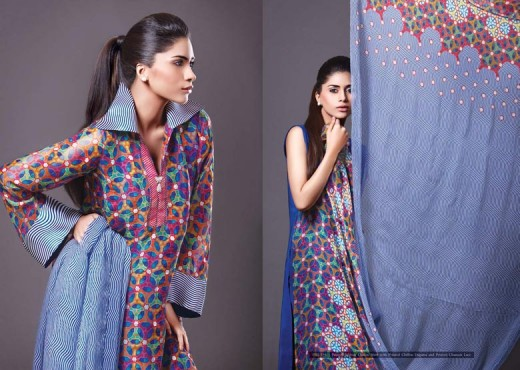Kayseria Lawn Collection for 2011 12 - Kayseria Lawn Prints Collection For Summer