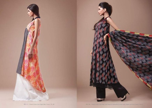 Kayseria Lawn New Designs for Spring 2011 - Kayseria Lawn Prints Collection For Summer